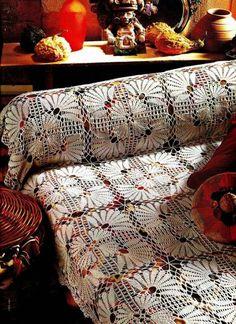Вязаные идеи для лета: легкие покрывала и пледы - Ярмарка Мастеров - ручная работа, handmade