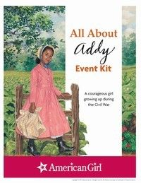 American Girl Publishing - Addy Printable Activities