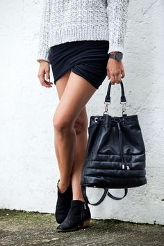 Make a simple jersey wrap skirt www.apairandasparediy.com by apairandaspare, via Flickr