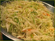 Recipe ~ German Slaw