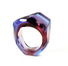 Glas ring by Bernhard Simon