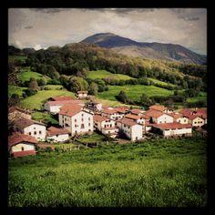 Amaiur, Navarra, Spain.