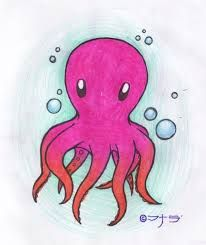 cute octopus drawings - Google Search