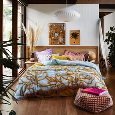Bohemian Bedroom Decor Ideas - Discover bohemian bedrooms that will certainly motivate you to revamp your room this spring. Bedroom Inspo, Home Bedroom, Bedroom Decor, Bedroom Signs, Decorating Bedrooms, Design Bedroom, Master Bedrooms, Bedroom Colors, Bedroom Ideas