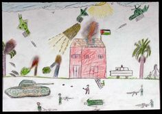 A Child's View of Gaza - 21   The Palestine Poster Project Archives