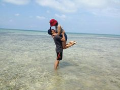My partner and my girl haha