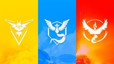 Download Pokemon Go Team Instinct Mystic and Valor Wallpaper 1920x1200
