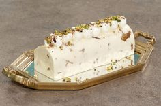 SEMIFREDDO ΤΣΟΥΡΕΚΙ - ΣΕΦ ΣΤΟΝ ΑΕΡΑ Icebox Pie, Forest Fruits, Butter Dish, Food To Make, Ice Cream, Sweets, Dishes, Cake, Desserts