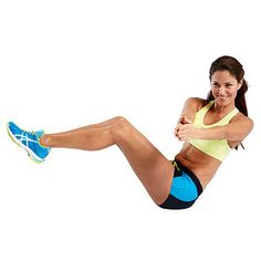 Russian Twist #exercise. Really good for the obliques (side abs). Gives you a nice definition in the waist