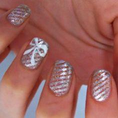 Glitter Holiday Nails