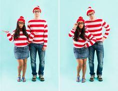 Waldo and Wenda Couples Costume