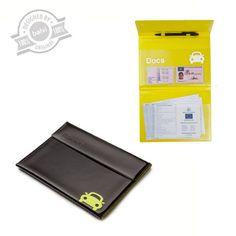 Documentholder car black PVC - Balvi