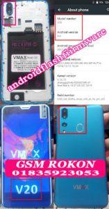 VMAX V20 Flash File | Firmware Android 8 0 MT6580 | Hang Logo & Dead