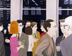 Alex Katz, Cocktail Party (1965)