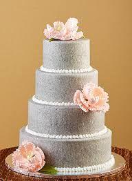 Risultati immagini per silver glitter wedding cakes