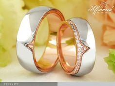 Eternity – karikagyűrű pár Wedding Rings, Engagement Rings, Jewelry, Enagement Rings, Jewlery, Jewerly, Schmuck, Jewels, Jewelery