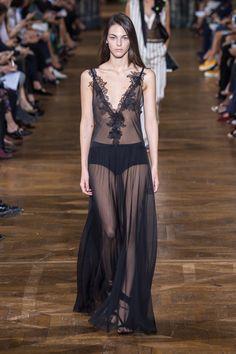 sleeveless, pleats, lace, transparent, sheer, silk, boudoir, long dress, dress, black dress, black, plunging neckline, lingerie