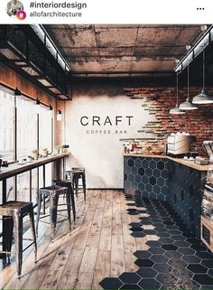 58 Ideas Industrial Lighting Cafe Restaurant Design For 2019 Minimalist Kitchen, Minimalist Bedroom, Minimalist Decor, Minimalist Design, Minimalist Window, Minimalist Living, Cafe Shop, Cafe Bar, Cafe Bistro