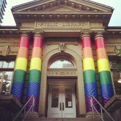 amazing Libraries: Toronto public library #pride