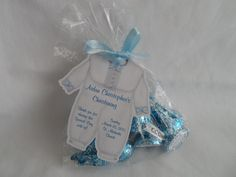 Unique Personalized Baby Boy Christening Baptism Birthday or Baby Shower Party Favor Gift Tags or Any Occassion - Name Baby Boy - Ideas of Name Baby Boy - Baptism Party Favors, Boy Party Favors, Christening Favors, Baby Shower Party Favors, Baby Shower Parties, Baby Shower Decorations, Christening Giveaways, Baptismal Giveaways, Baptism Decorations