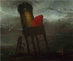 Zdzislaw Beksinski  | Macabre - but is it Surreal?