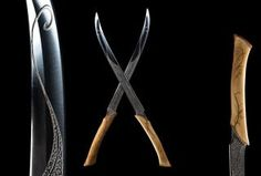 The Lord of the Rings: The Fellowship of the Ring - The White Knives of Legolas Weta Workshop