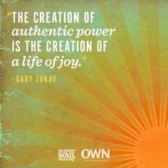 How do you live authentically?