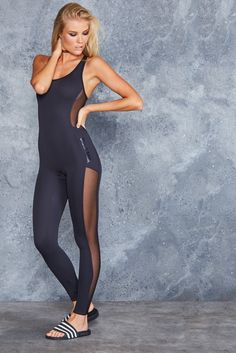 Sheer Catsuit ($120AUD) by BlackMilk Clothing
