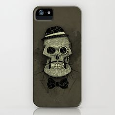 Old Skull iPhone Case by Tomas Jordan - $35.00