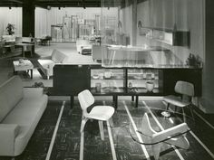#Eames in this:  NY @hermanmiller showroom WHY Magazine - Live from New York