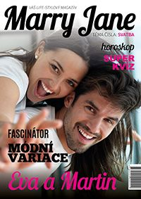 Vytvořte vlastní časopis na míru své svatbě! Je to jednoduché a on-line. Stačí nahrát fotografie a je z vás hvězdný pár na způsob celebrit!