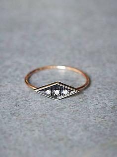 Free People Eike Diamond Ring, $458.00