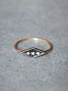 Free People Eike Diamond Ring, $458.00