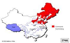 The Chinese Civil War, 1946-50.  From http://xenohistorian.faithweb.com/china/