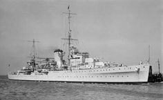 Career (United Kingdom) 	  Name: 	HMS Achilles  Builder: 	Cammell Laird, Birkenhead, England  Laid down: 	11 June 1931  Launched: 	1 September 1932  Commissioned: 	10 October 1933  Out of service: 	Loaned to Royal New Zealand Navy 1 October 1936  Identification: 	Pennant number: 70  Fate: 	Sold to Indian Navy 5 July 1948  Career (New Zealand) 	  Name: 	HMNZS Achilles  Commissioned: 	1 October 1941  Decommissioned: 	17 September 1946  Fate: 	Returned to Royal Navy 17 September 1946