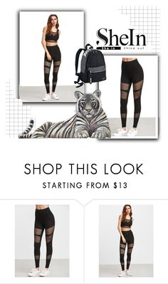 """""""shein"""" by airin-flowers ❤ liked on Polyvore featuring NIKE"""