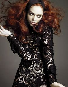 "Coco Rocha in ""Coco Pop"" By Alix Malka For Numero Tokyo #19, October 2008"