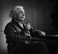 """""""Only one who devotes himself to a cause   with his whole strength and soul can be a true master.   For this reason mastery demands all of a person.""""   ~Albert Einstein  (Photo by Herman Leonard)"""