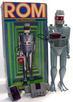 ROM the Spaceknight Action Figure by Neato Coolville