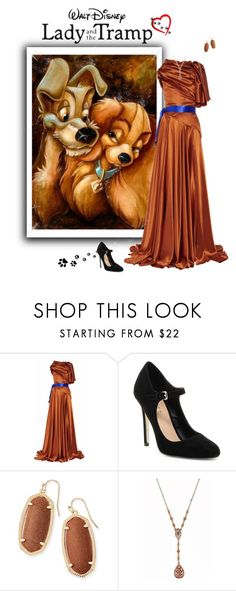 """Lady and the Tramp"" by greerflower ❤ liked on Polyvore featuring Roksanda Ilincic, Mixx Shuz, Kendra Scott and 1928"