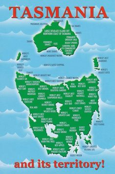 Tasmania's Cartographic Revenge