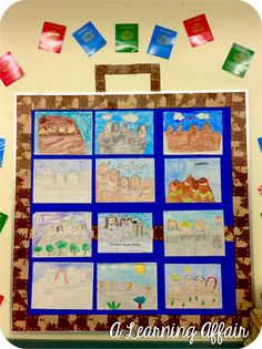 Liberty bell how to fluttering through first grade for Design your own cork board