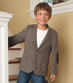 So adorably handsome. Look at that cutie pie jacket!