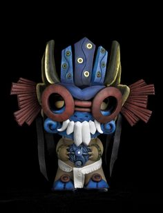 It's Tlaloc! or Cthulhu.