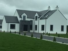 House Designs Ireland, Mini Cabins, Ireland Homes, Family House Plans, Dream Home Design, Story House, New Builds, House Front, Dream Houses