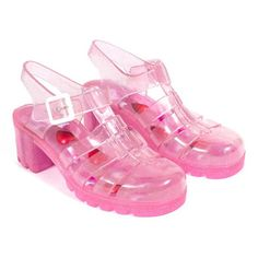 Chelsea boots dress mules shoes wedge,jelly shoes style saddle shoes love,women's athletic shoes above the knee suede boots. Funky Shoes, Cute Shoes, Me Too Shoes, Jelly Shoes, Jelly Sandals, Juju Jellies, Plastic Sandals, Pink Sandals, Shoes Sandals