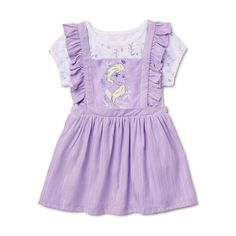Kindergarten Outfit, Teddy Bear Clothes, Pinafore Dress, Little Girl Outfits, 2 Piece Outfits, Disney Girls, Disney Outfits, Sewing For Kids, Toddler Girl
