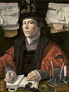 Jan Mabuse (1478–1532) / Portrait of a merchant or Portrait of a Man (Jan Jacobsz. Snoeck?) circa 1530 / National Gallery of Art