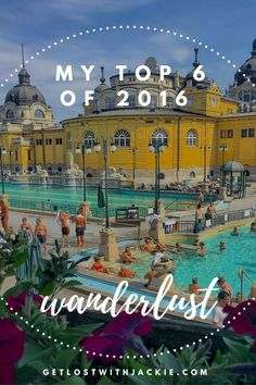 I went to some incredible places in 2016, but there are 6 that definitely stood out to me. If you're looking for travel inspiration and trying to decide what country to visit next, check this out. This post will help make your top places to travel in 2017 complete in no time. Make sure you save these top travel destinations to your travel board so you can find them!