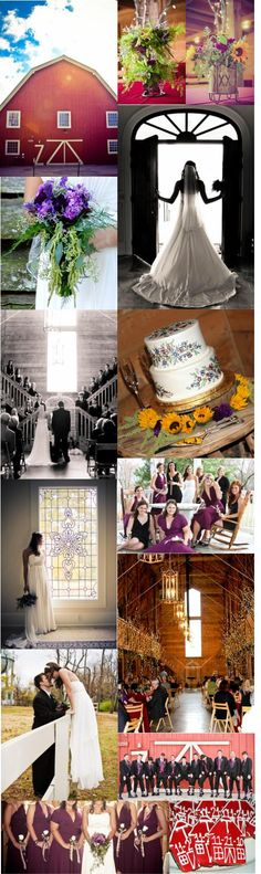 Barn Wedding, fall wedding, purple wildflower bouquet, sunflowers, rustic, wedding cookie favors, Pratt Place Barn and Inn (Melissa Conn Photography)